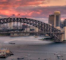 The Best Part Of The Day - Sydney Harbour Dawn - The HDR Experience by Philip Johnson