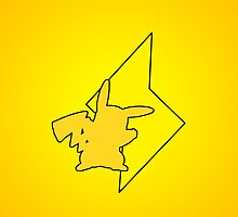 Pokemon - Pikachu Lightning iPhone / iPod Cover by Aaron Campbell