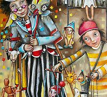 Puppeteers by Monica Blatton