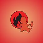 Pokemon - Charmander Flame iPhone / iPod Cover by Aaron Campbell