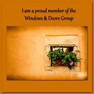 Windows & Doors Proud Member by Jacinthe Brault