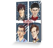 CULT BBC - The Heroes (All in 1) Poster Greeting Card