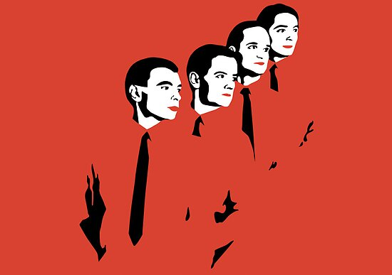 Man Machine - Kraftwerk by topicarmesi