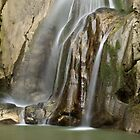 Barbennaz waterfall, lower part by Patrick Morand