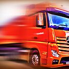 Mercedes Benz Actros  by Mick Smith