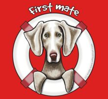 Weimaraner :: First Mate by offleashart