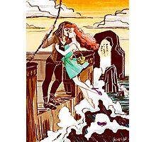 The Pirate and the Mermaid Photographic Print