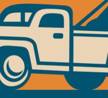 Vintage Tow Wrecker Pick-up Truck Sticker