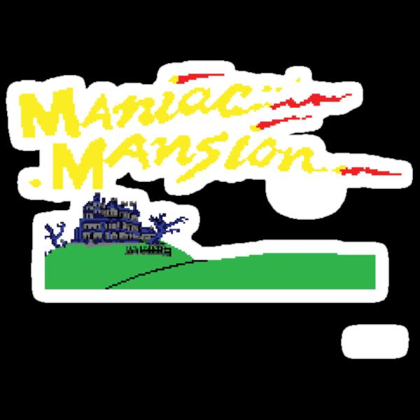 Maniac Mansion C64 by antdragonist