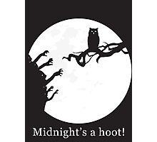 Midnight's a hoot! Photographic Print
