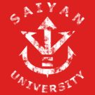 Saiyan University - White version by karlangas