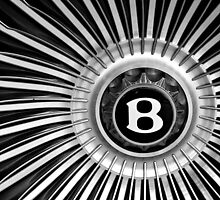 """B"" Wheel by Fern Blacker"