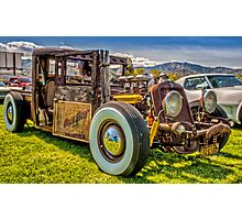 HillBilly Chevy Photographic Print