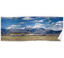 Hindu Kush Range, Bagram, Afghanistan Poster