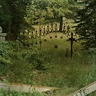 Gates at Blood Road by G.James Wyrick by gjameswyrick