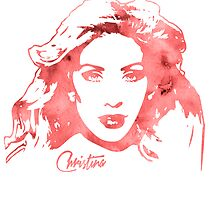 Christina Aguilera - Beautiful - Pop Art by wcsmack