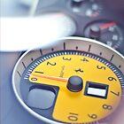 Ferrari Rev Counter iPhone Case by Adam Kennedy