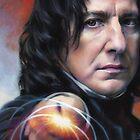 Snape, Defense Against The Dark Arts by Cynthia Blair