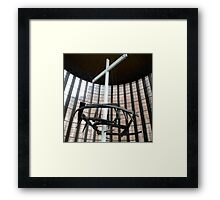 Crown of nails, Coventry Cathedral Framed Print