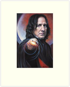 Defense Against the Dark Arts, Professor Snape by Cynthia Blair