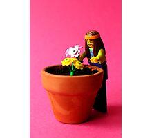 Flower Hippy Photographic Print