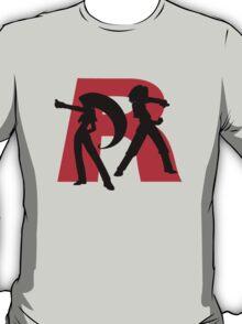 Team Rocket Line art T-Shirt
