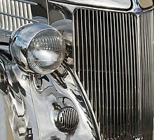1936 Ford - Stainless Steel Body Grille by Jill Reger