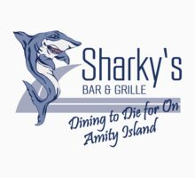 Jaws Sharky's Bar & Grille by waywardtees