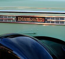 1948 Diamond T Truck Emblem 2 by Jill Reger