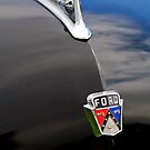 1950 Ford Crestliner Hood Ornament by Jill Reger