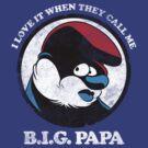 BIG Papa - Smurf, Bad Boy Collabo by popephoenix