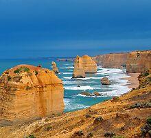 The Twelve Apostles. Port Cambell National Pk, Victoria, Australia. by Ralph de Zilva
