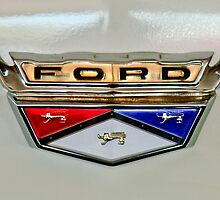 1959 Ford Ranchero Emblem by Jill Reger