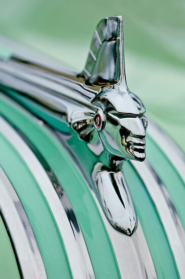 1951 Pontiac Streamliner Hood Ornament 3 by Jill Reger