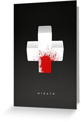 Misato by almn