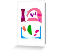Without Pediment  Greeting Card
