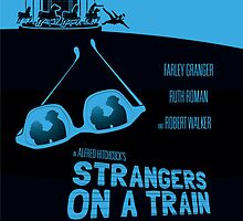 Alfred Hitchcock's Strangers On A Train by AlainB68