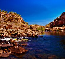Kayaking Katherine Gorge 4, Nitmiluk National Park by Jaxybelle