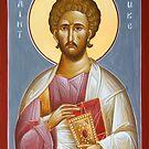 St Luke the Evangelist by ikonographics