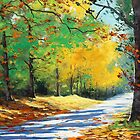 Autumn Road by Graham Gercken