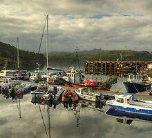 A Highland Harbour by VoluntaryRanger