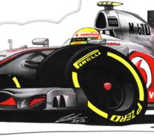 F1 2012 - McLaren MP4-27 - Lewis Hamilton Sticker