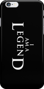 I AM A LEGEND - Dark Version by techwiz