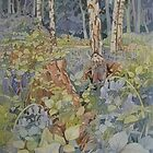 Bluebell Wood by Anne Bonner