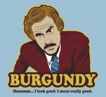 Ron Burgundy by SykoGraphx