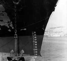69 - PLIMSOLL LINE, BLYTH HARBOUR (D.E. early 1970s) by BLYTHPHOTO
