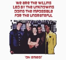 Red Dwarf 'The Willing' by jbrdly