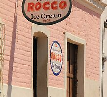Old Ice Cream Shop by Roupen  Baker