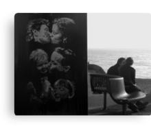 Kissing Couples, Brighton Canvas Print