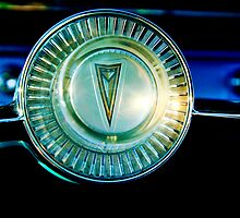 1961 Pontiac Catalina Steering Wheel Emblem by Jill Reger